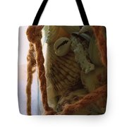 Shells In A Bottle Tote Bag by Diane Reed