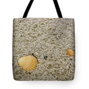 Shells In The Sand Tote Bag