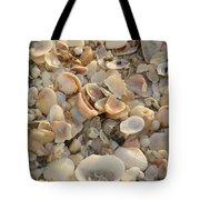 Shells On Beach Tote Bag