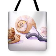 Shells Still Life Tote Bag