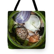 Shells Under Glass II Tote Bag