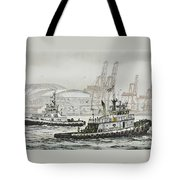 Shelly And Wedell Foss Tote Bag