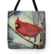 Shelly's Cardinal Tote Bag