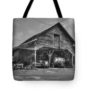 Shelter From The Storm 2 Wrayswood Barn Tote Bag