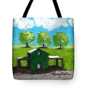 Shelter Of The Most High Tote Bag