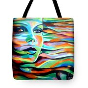 Sheltered By The Wind Tote Bag