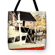 Sheltered Port Tote Bag