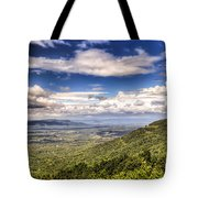 Shenandoah National Park - Sky And Clouds Tote Bag