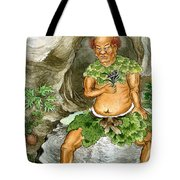 Shennong, Chinese Deity Of Medicine Tote Bag