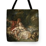 Shepherd And Shepherdess Tote Bag