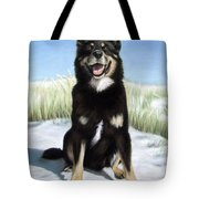 Shepherd Mix Timmy Tote Bag