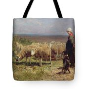 Shepherdess Tote Bag by Anton Mauve