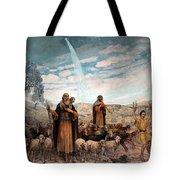 Shepherds Field Painting Tote Bag
