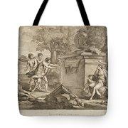 Shepherds In Arcadia Tote Bag