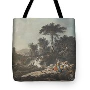 Shepherds Resting By A Stream Tote Bag
