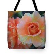 Sherbert Rose Tote Bag