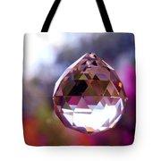 Sherbet Crystal Teardrop Tote Bag