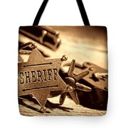 Sheriff Tools Tote Bag
