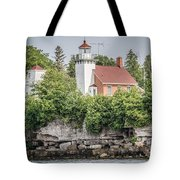 Sherwood Point Lighthouse Tote Bag