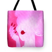 She's A Lady Very Pink Tote Bag