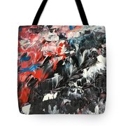 She's All Eyes And Tempest Tote Bag