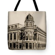 Shibe Park 1913 In Sepia Tote Bag