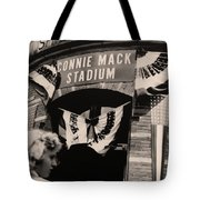 Shibe Park - Connie Mack Stadium Tote Bag by Bill Cannon