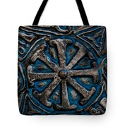 Shield Of Time Tote Bag