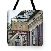Shields Tavern Sign Tote Bag