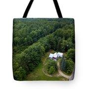 Tilt-shift Farm Tote Bag