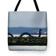 Shilshole Sea Serpent Tote Bag