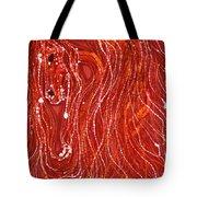 Shimmer Tote Bag by Carol  Law Conklin