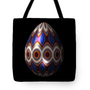 Shimmering Christmas Ornament Egg Tote Bag