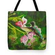Shimmering Hummingbird  Tote Bag
