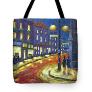 Shimmering Night Tote Bag