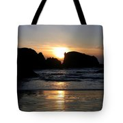 Shimmering Sands Sunset Tote Bag