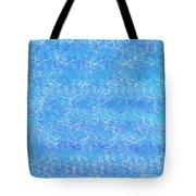 Shimmering Water Tote Bag