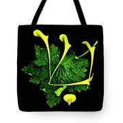 Shin - First Hebrew Letter Of Shalom Tote Bag