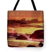 Shine Like The Universe  Tote Bag