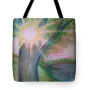 Shine Thru Tote Bag
