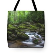 Shining Creek Tote Bag