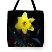 Shining Daffodil Tote Bag