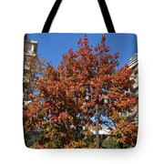 Shining In City Tote Bag