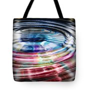 Shining Ripples In Bright Colors Tote Bag