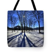 Shining Through Tote Bag