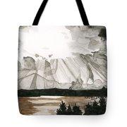 Shining Through The Storm Tote Bag