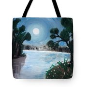 Shining Water Tote Bag