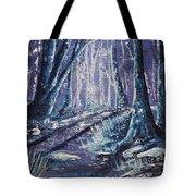 Shining Wood Tote Bag