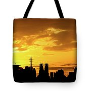 Shinjuku Sunrise Tote Bag