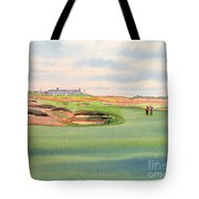 Shinnecock Hills Golf Course Tote Bag by Bill Holkham